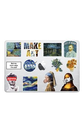 Katze Stickers Art Sanat Temalı Laptop Notebook Tablet Sticker Seti (12 ADET)