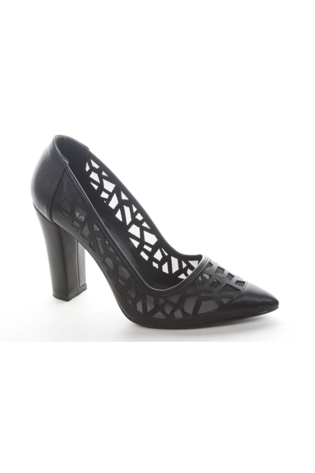 Pandora Ayakkabı Kadın Kırmızı Topuklu Ayakkabı 1