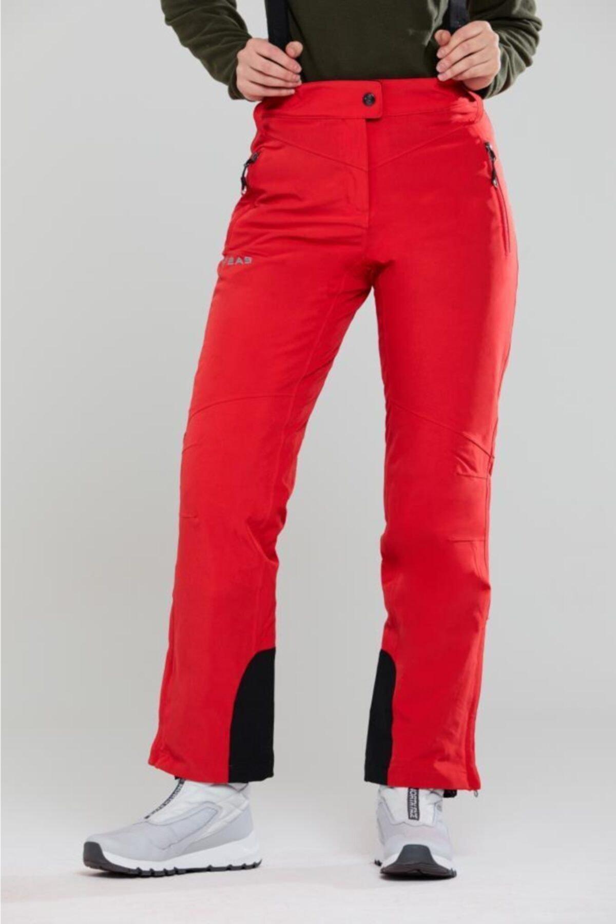 2AS Asama Kadın Kayak Pantolonu Kırmızı 1