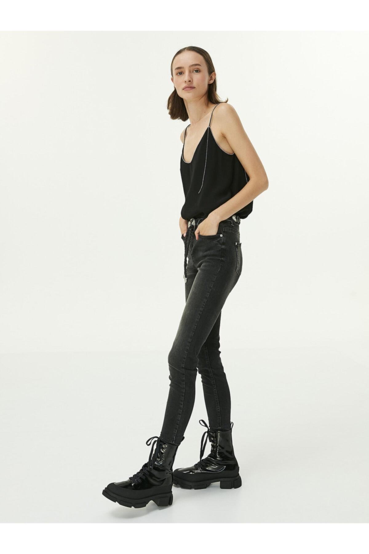 Twist Skinny Fit Jean Pantolon 2
