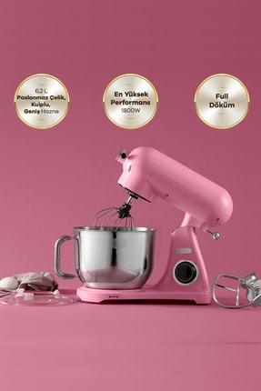 Karaca Powercast Chef Döküm Stand Mikser 1800w Mutfak Şefi Pink
