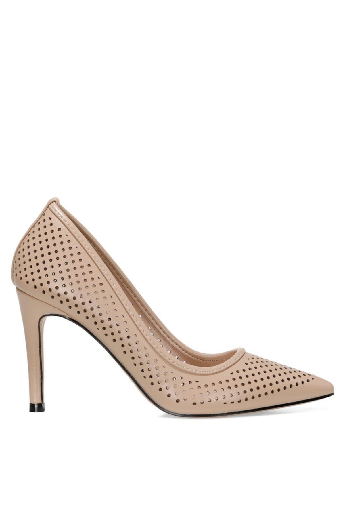 Nine West JERRIKA 1FX Naturel Kadın Klasik Topuklu Ayakkabı 101007987 1