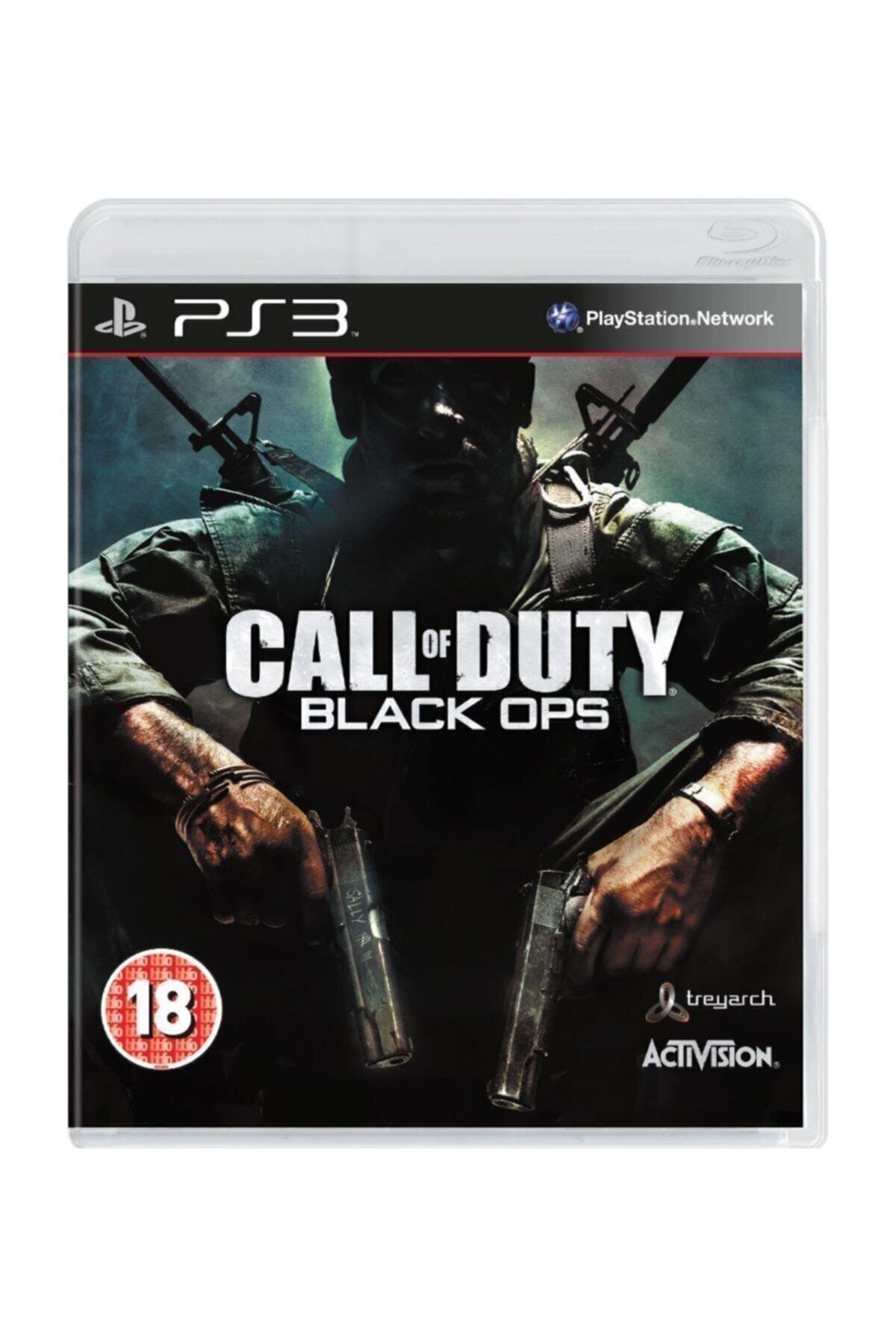 ACTIVISION Playstation 3 Oyunu Almanca Menü ( Call Of Duty Black Ops Ps3 ) Oyun 1