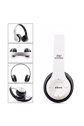 Gomax P47 Beyaz Wireless Bluetooth Kulaklık