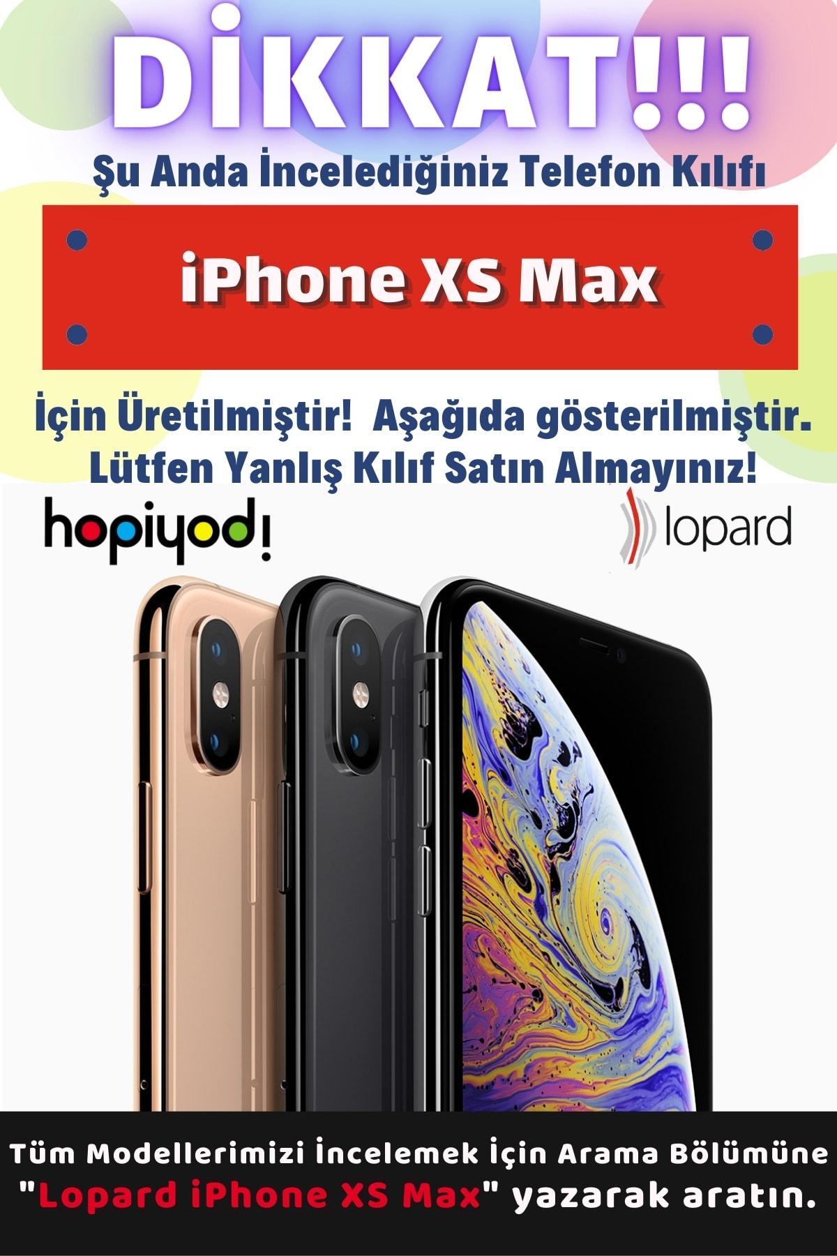 Lopard Iphone Xs Max Uyumlu Kılıf 2