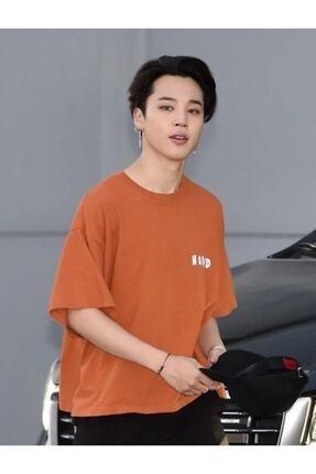 Köstebek Unisex Turuncu K-pop Bts Jimin Be A Good Human T-shirt