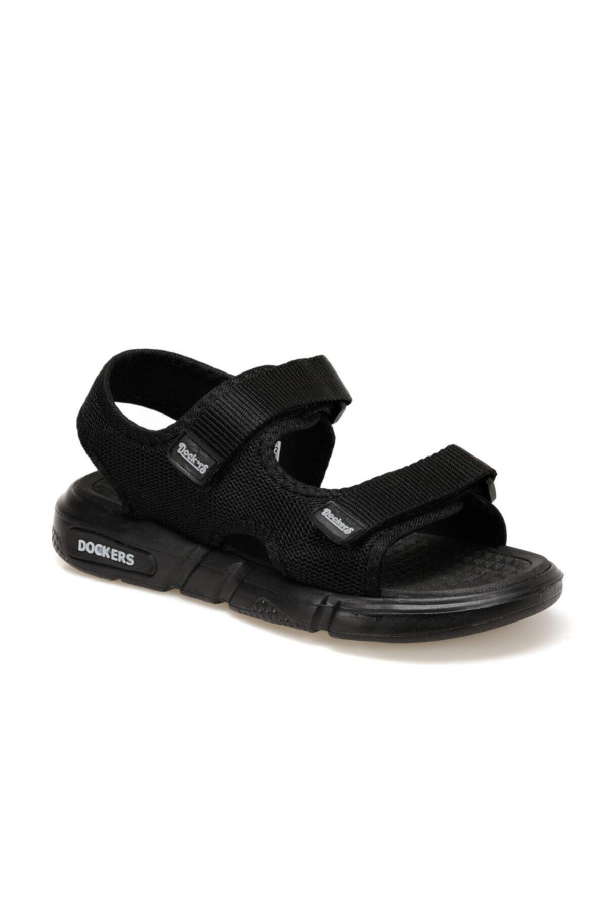 Dockers By Gerli 228650 Siyah Erkek Sandalet 100497772 1