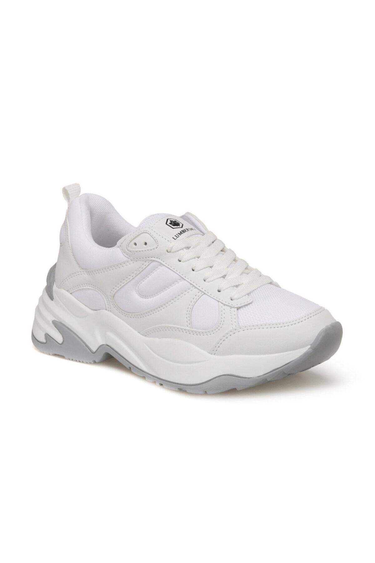 lumberjack Frıday Beyaz Kadın Sneaker Ayakkabı 1