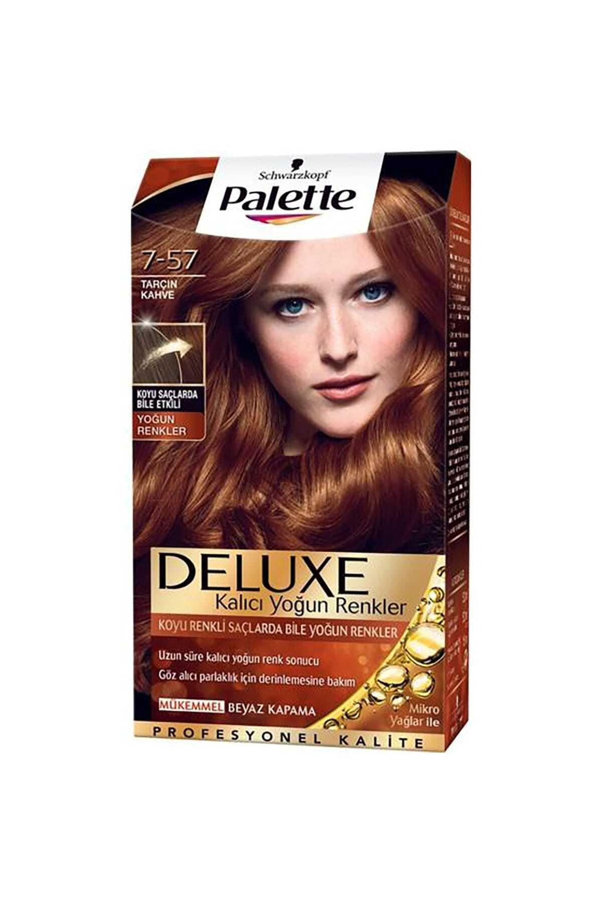 SCHWARZKOPF HAIR MASCARA Tarçın Kahve Saç Boyası 1
