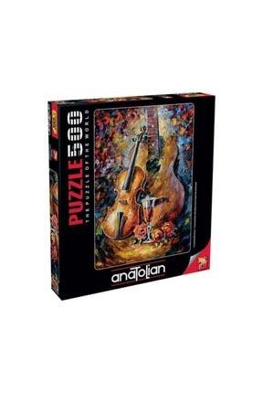 Anatolian Puzzle Gitar Ve Keman Puzzle Yapboz 500 Parça