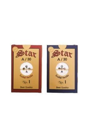 Star Oyun Star Gold Serisi A/30 Iskambil Kağıdı - Çift Deste
