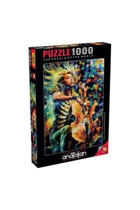 Anatolian Puzzle Muhteşem Çellist Puzzle Yapboz 1000 Parça