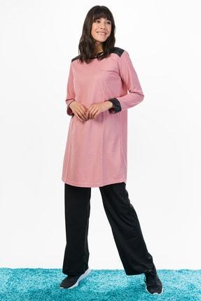 Runever Kadın Pudra Tunik Takım