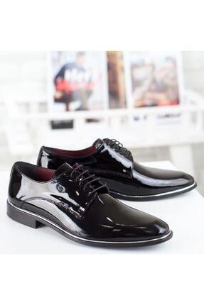 MARCOMEN Siyah Rugan Hakiki Deri Bağcıklı Erkek Klasik Ayakkabı • A19eymcm0034