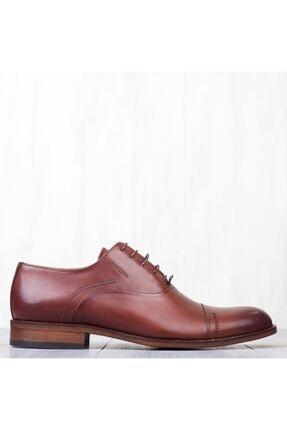 MARCOMEN Kahve Hakiki Deri Bağcıklı Erkek Klasik Ayakkabı • A19eymcm0022