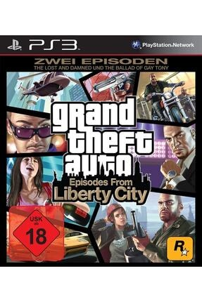 Rockstar Ps3 Gta Liberty City