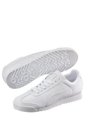 Puma Roma Basic Unisex Beyaz Spor Ayakkabı (353572-21)
