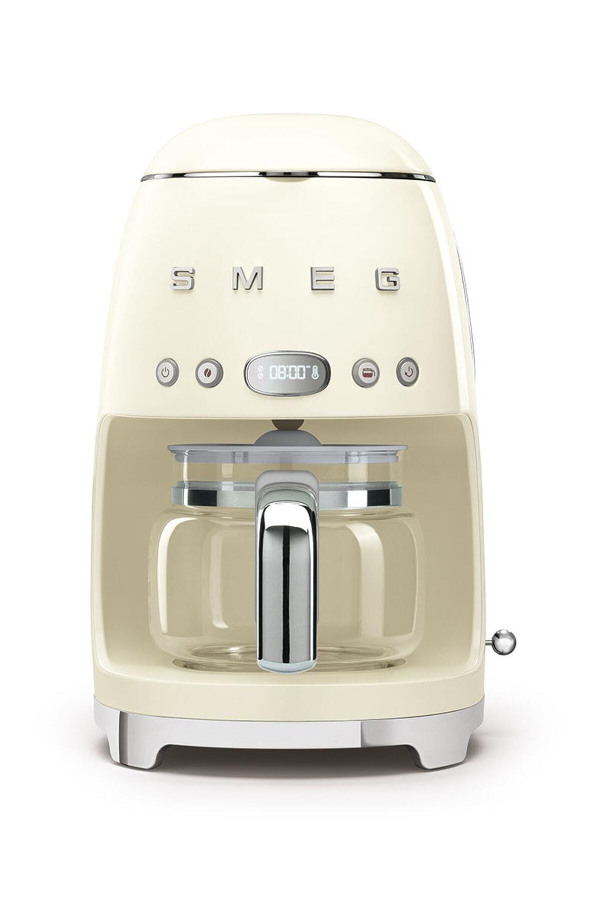 SMEG Krem Filtre Kahve Makinesi 50's Retro Dcf02creu 1