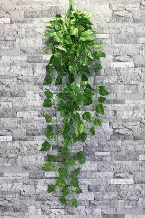 Yapay Çiçek Deposu Yeşil 9 Dal Oval Sarkan Yapay Sarmaşık 90 cm