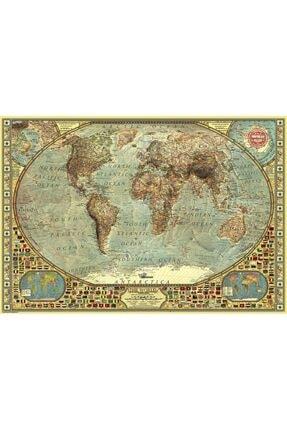 Anatolian Puzzle Dünya Haritası 2 000 Parça  Puzzle