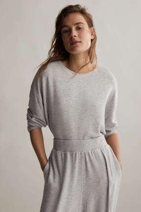 Oysho Kadın Comfort Feel Düz Tişört