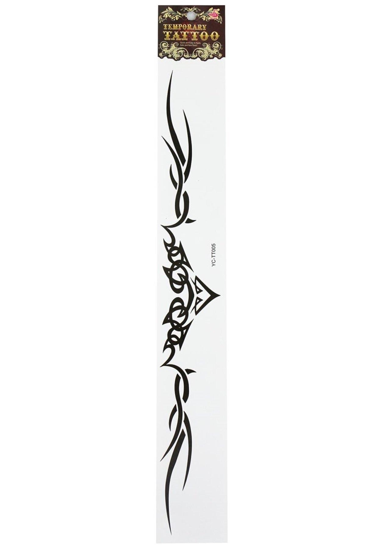 TAKIŞTIR Geçici Bel ve Bacak Dövme Tattoo 2