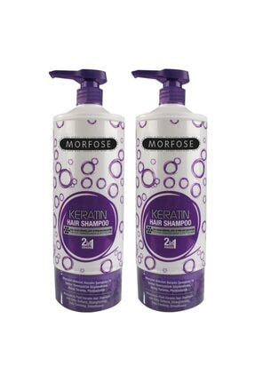 Morfose Keratın Şampuan 1000 ml 2 Adet