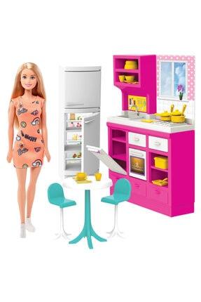 Barbie Mutfak Oyun Seti Oba Mutfakta