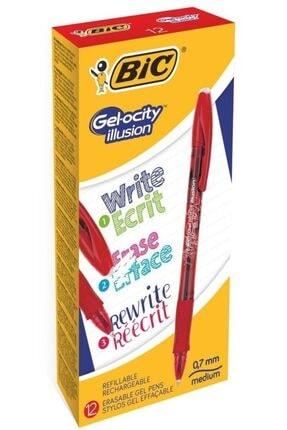 Bic Bıc Tükenmez Kalem Gelocıty Silinebilir Kırmızı