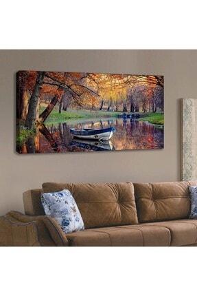 Lora Stil Kanvas Tablo 120x60 cm