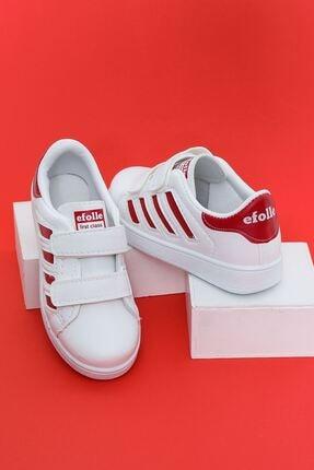 Aymeravm Çocuk Kırmızı Şeritli Spor Ayakkabı