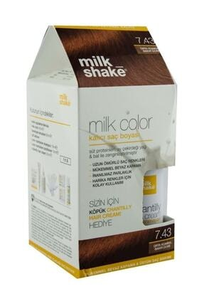 Milkshake Saç Boyası Bakır Dore 7,43 Ve Saç Köpüğü 8681127022124