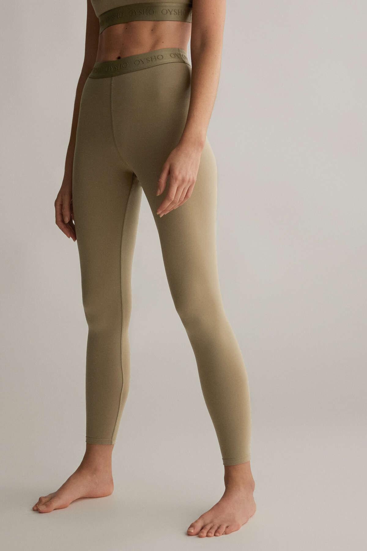 Oysho Bilek Hizasında Comfort Leggings 1