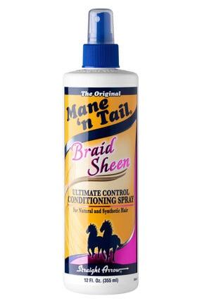 MANE'N TAIL Braid Sheen Control Conditioning Sprey 355 Ml