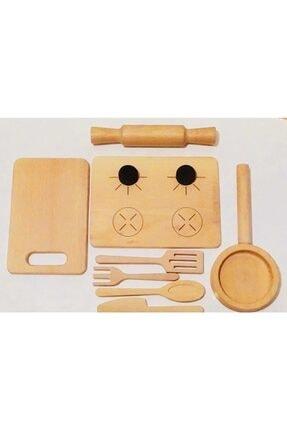asya ahşap oyuncak Ahşap Mutfak Seti Eğitici Oyuncak