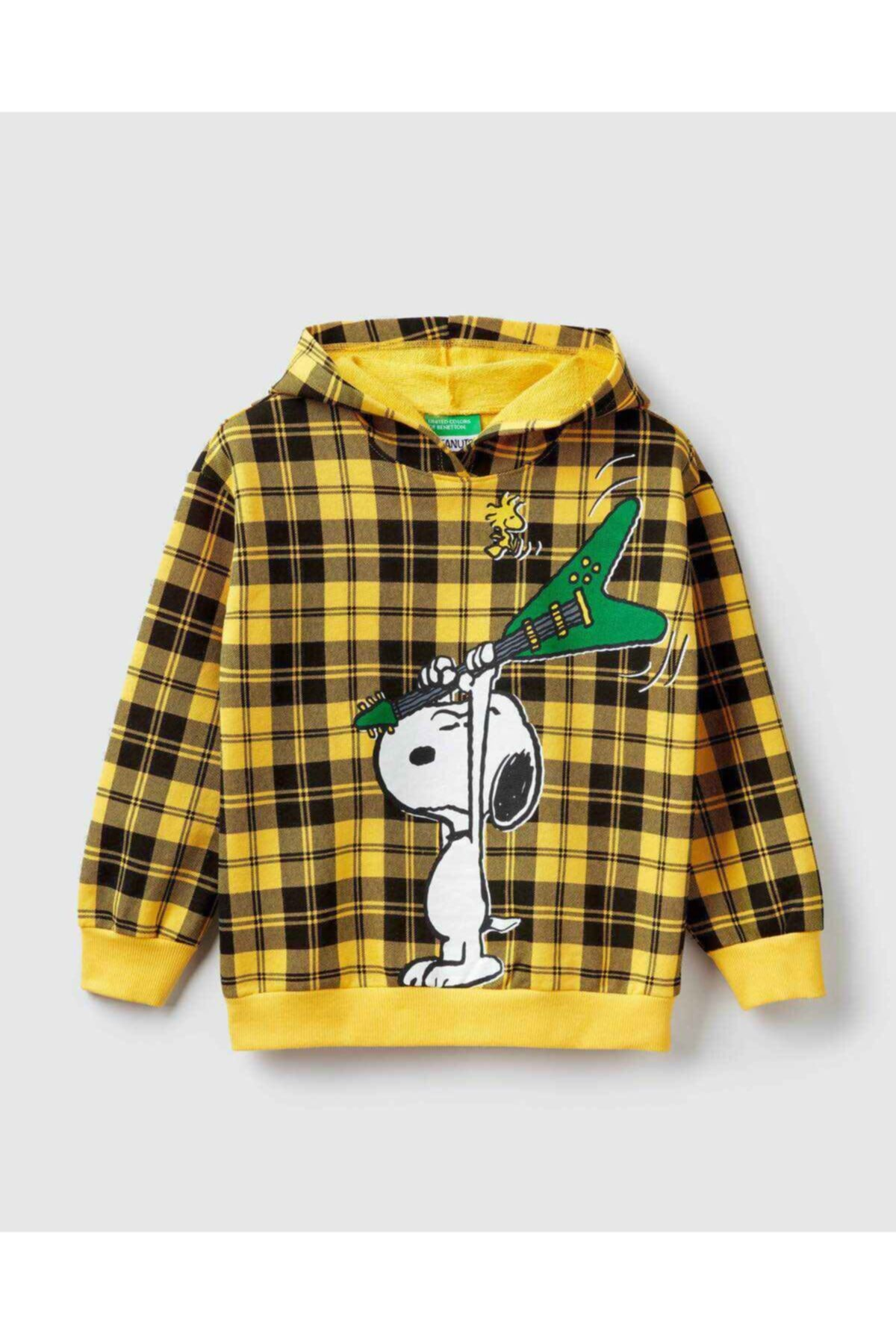 United Colors of Benetton Snoopy Ekose Sweatshirt 1
