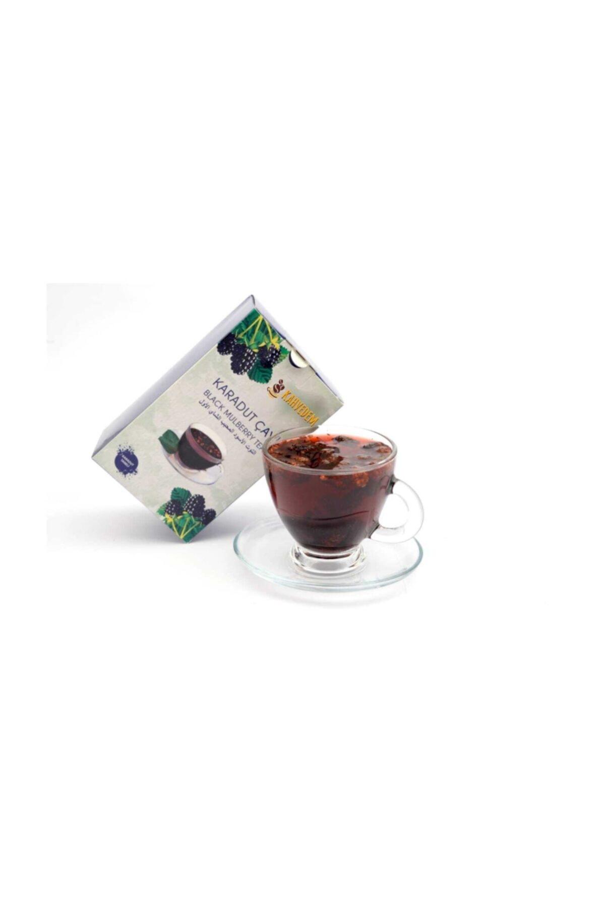 Kahvedem Yenilebilir Doğal Meyve Taneli Karadut Çayı 250 gr 2