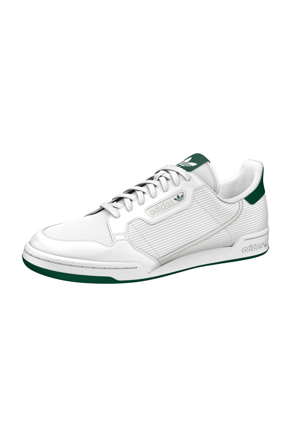 adidas CONTINENTAL Sneaker 80      FTWWHT/GREONE/CGREEN 1