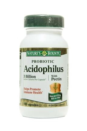 Nature's Bounty Nb Probiotic Acidophilus With Pectin 100 Kapsül