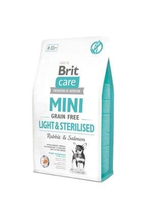 Brit Care Mini Light Sterilised Kısırlaştırılmış Tahılsız Küçük Irk Köpek Maması 2 Kg