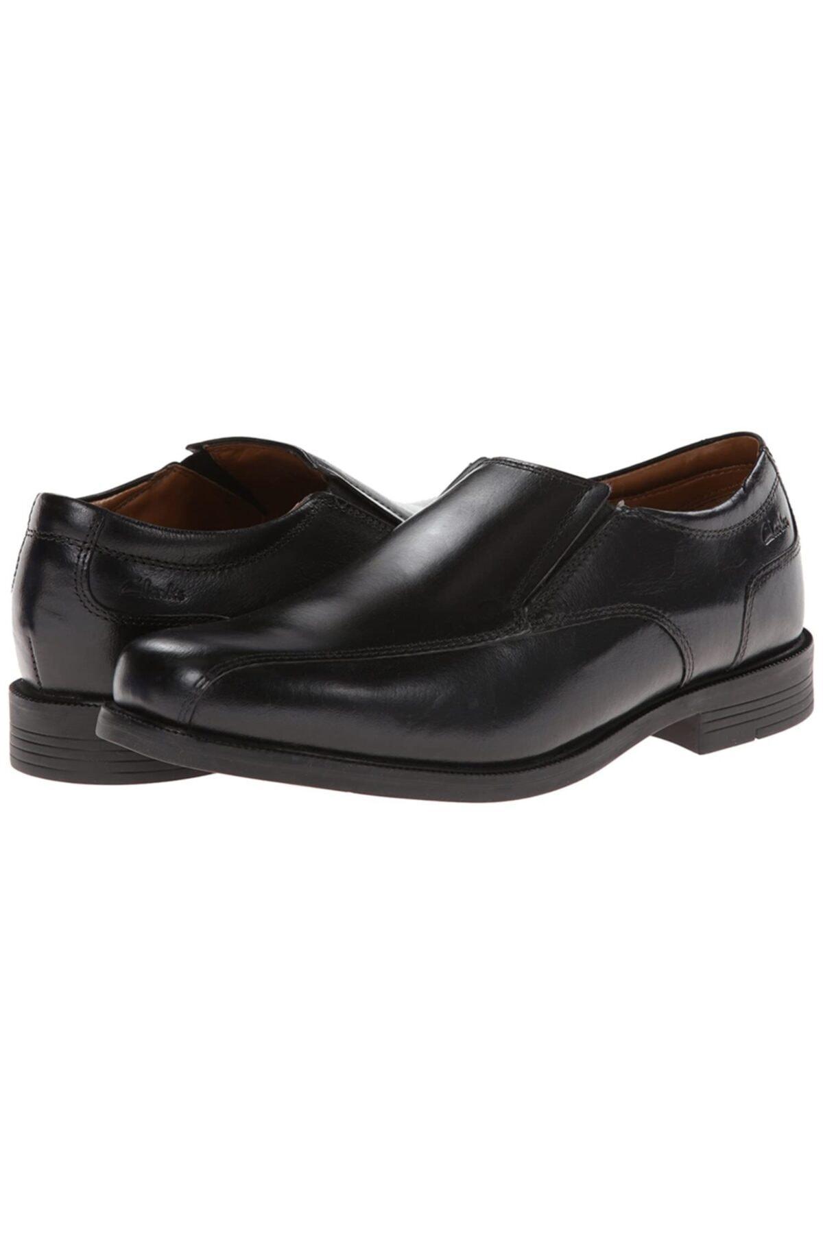 CLARKS Bağcıksız Erkek Ayakkabı Yumuşak Deri Iç Astar Ve Yastıklı Ortholite Tabanlık Beeston Step 1
