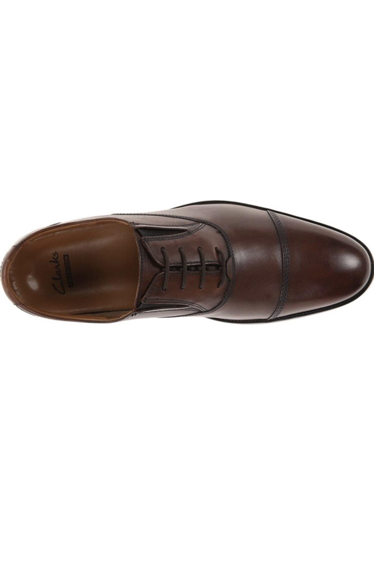 CLARKS Erkek Ayakkabı Bağcıklı Şık Ve Rahat Kalden Cap 2