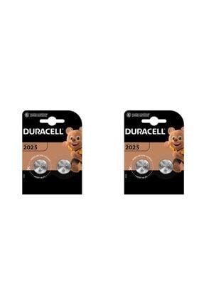 Duracell Cr2025 Lithium 3v Pil 4 'lü 2 Paket