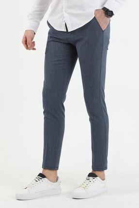 DENSMOOD Düz Renk Keten Pantolon
