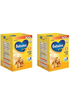 Bebelac Devam Sütü No:1 900 gr 2 Adet