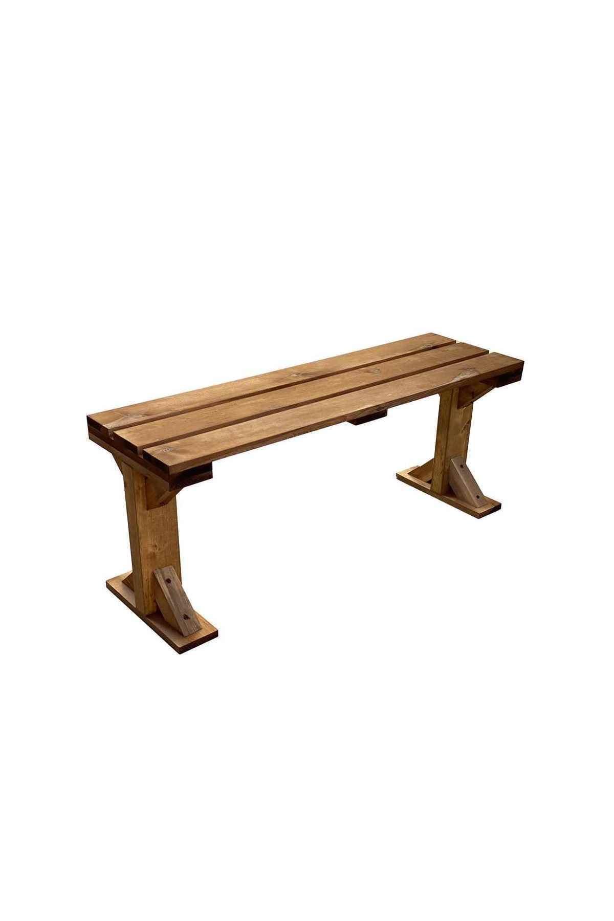 Weblonya Bank Ahşap Bench Sandalye Mutfak Bank 5140 1