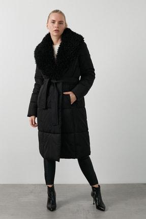 Vero Moda Kadın Vmcozy Regular Fit Tüylü Yaka Cepli Mont Mont 10236377