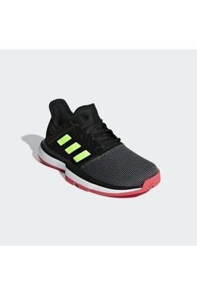 adidas Kız Çocuk Siyah Spor Ayakkabı Solecourt Xj