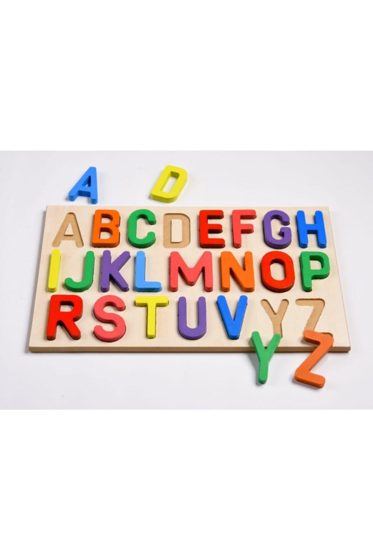 Türk Toys Ahşap Puzzle 2'si 1 Arada Alfabe Ve Sayılar Hy0054 2