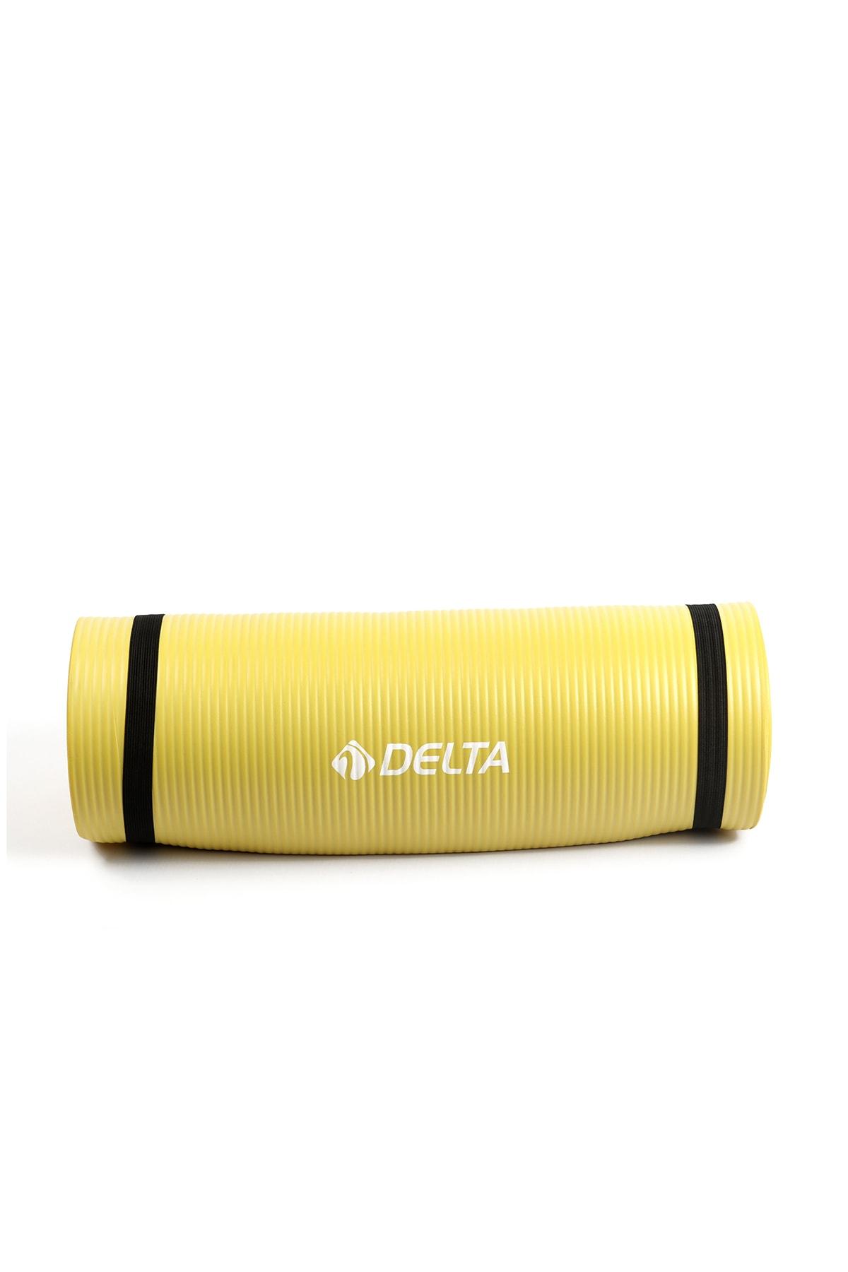 Delta Konfor Zemin 15 Mm Taşıma Askılı Pilates Minderi Yoga Matı